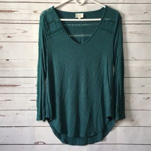 Anthropologie Deletta long sleeve shirt